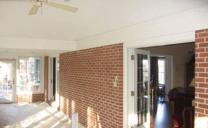 Faux Brick Interior Walls Dino Painting Wallpapering
