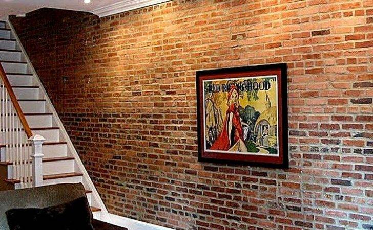 Faux Brick Wall Really Truly Fake Then Super