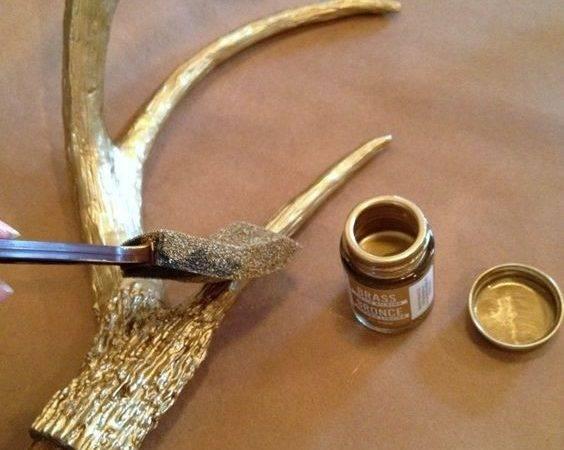 Faux Deer Head Heads Antlers Antler Crafts Art Fester