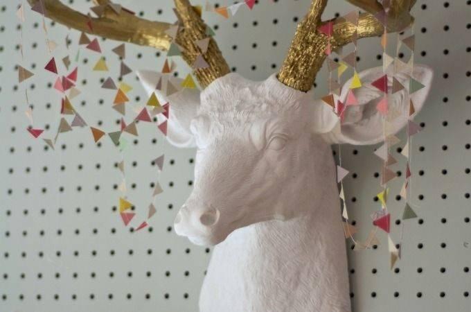 Faux Deer Head Pinterest Heads Antlers Stag