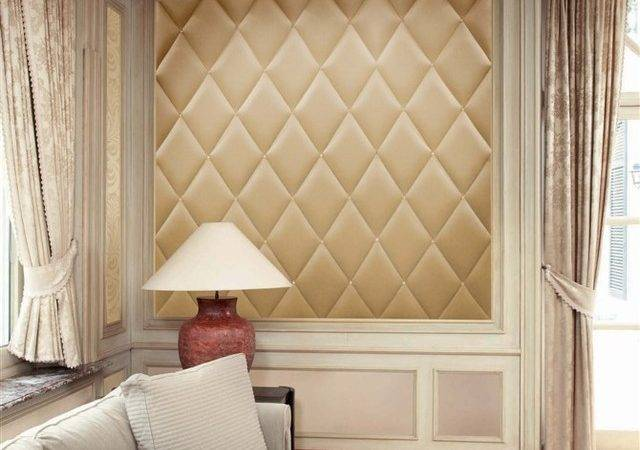 Faux Leather Wall Panel Modern New York Luxury Home Llc