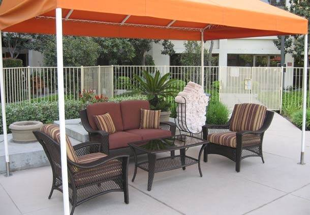 Features Pool Canopy Relax Our Cozy Setting Shade