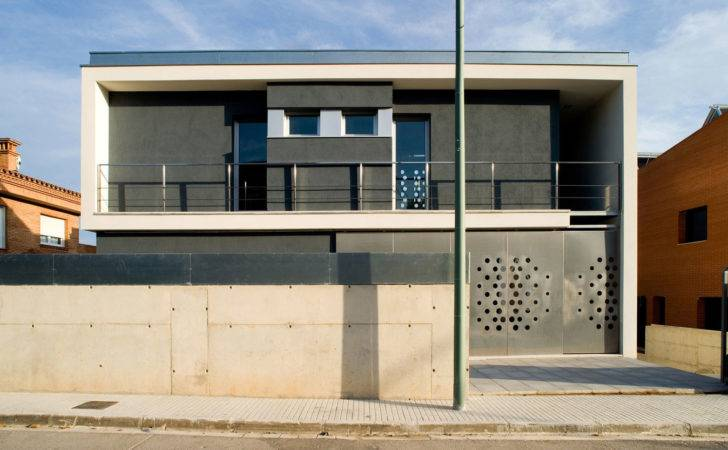 Fence Design Ideas White Concrete Make Seems Modern