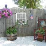 Fence End Driveway Garden Pinterest
