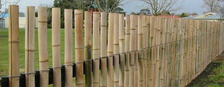 Fence Gardens Design Idea Backyard Bamboo Huts Fences