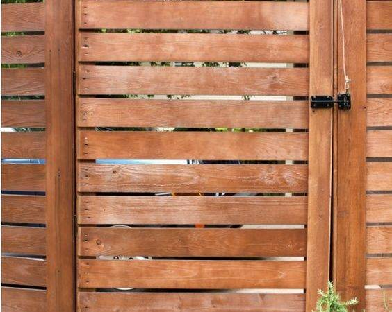 Fence Gate Diy Pull Through Styles Gates More