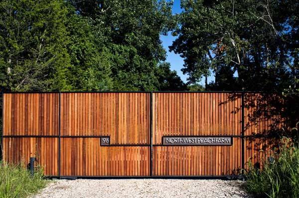 Fence Ideas Gate Design Wood Privacy Designs