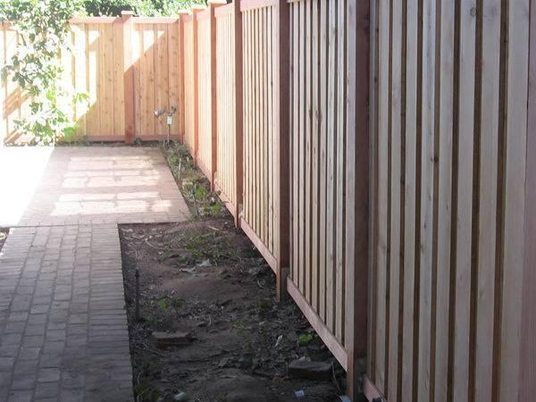 Fence Ideas Horizontal Vertical Slats Neighborhood