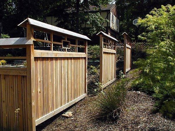 Fence Japanese Style Asian Inspired Gardens Pinterest
