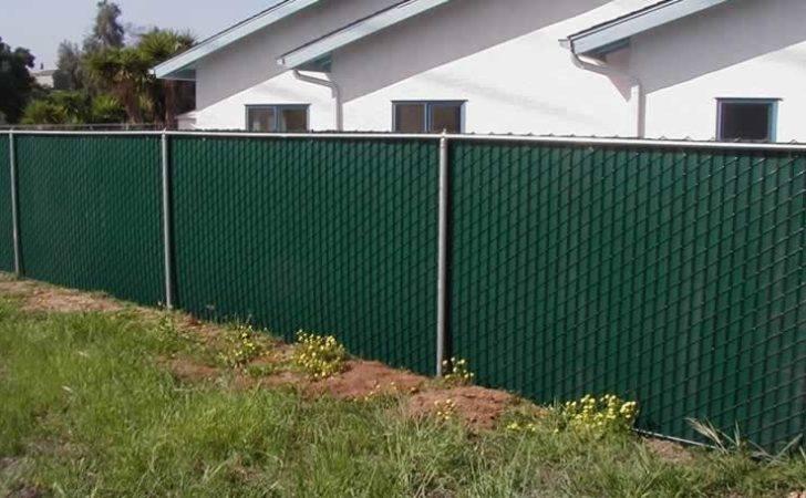 Fence Pvc Privacy Vinyl Plastic Slats Chain Link Jimco