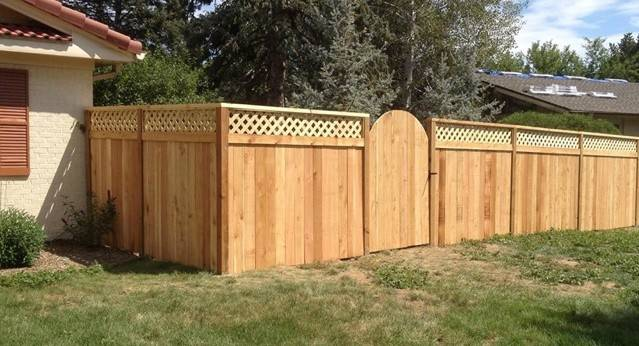 Fence Styles Wood Fences Lattice Top Picket