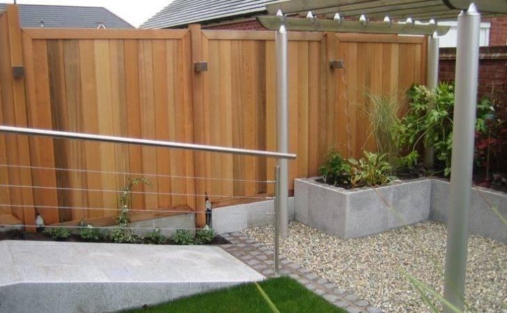 Fence Sue Davis Contemporary Cedar Gardens Design Panels