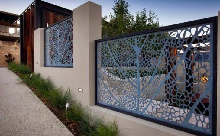 Fences Minimalist Home Design Pin Pinterest