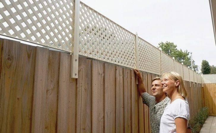 Fences Pinterest Backyard Fence Ideas Patio Privacy