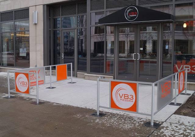 Fencing Sidewalk Cafe Barriers Outdoor Restaurant