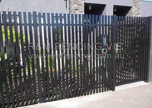 Fencing Slat Fence Gate Vertical