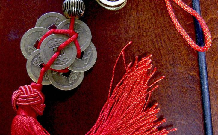 Feng Shui Chinese Knot Coins Lucky Home Career Health Wealth