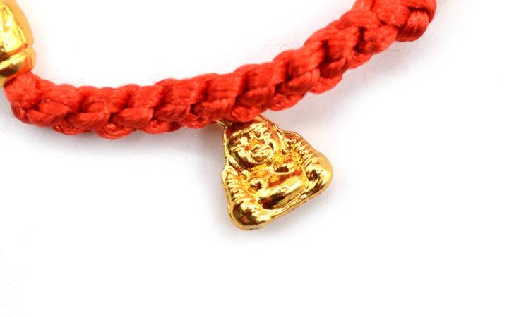 Feng Shui Lucky Buddha Bead Red String Bracelet Good Luck Jewelry New