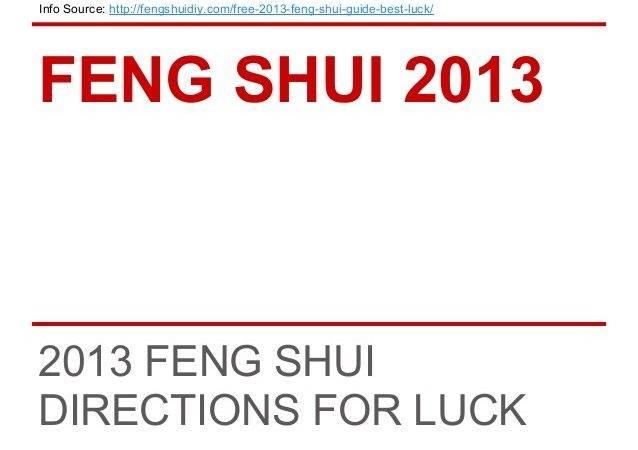 Feng Shui Tips Best Luck