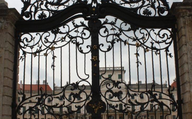 Fert Teau Wrought Iron Gate Wikimedia Commons