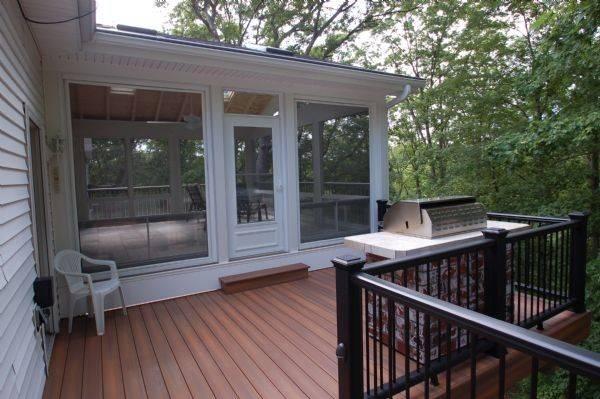 Fiberon Horizon Ipe Deck Sunroom Breeze Windows Louis