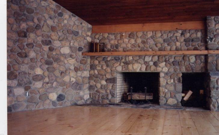 Fieldstone Fireplace Dewey Fladd