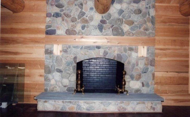 Fieldstone Fireplace Ideas