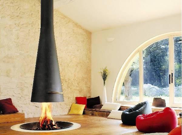 Filiofocus Hanging Freestanding Fireplaces Keep Warm