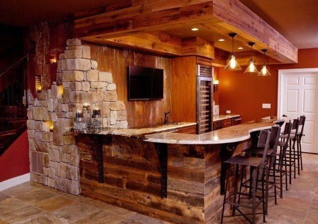 Finished Basement Bar Man Cave Pinterest Basements