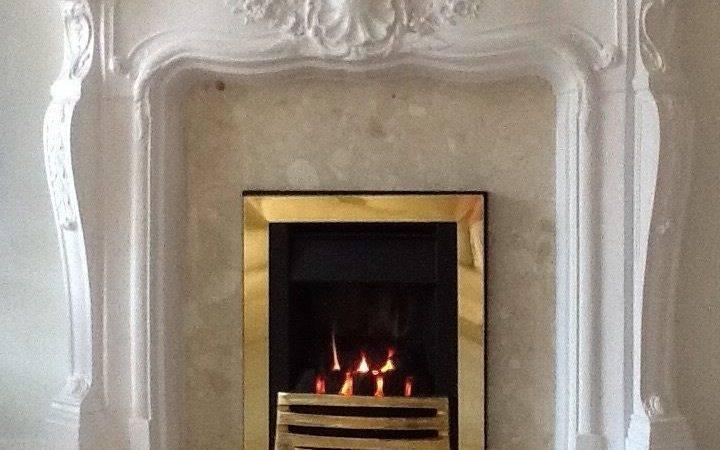 Fire Surround Louis Ornate Plaster