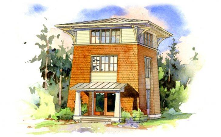 Fire Tower Cabin Plans Small House Perfect