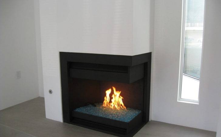 Fireplace Accessories Contemporary Glass Rock