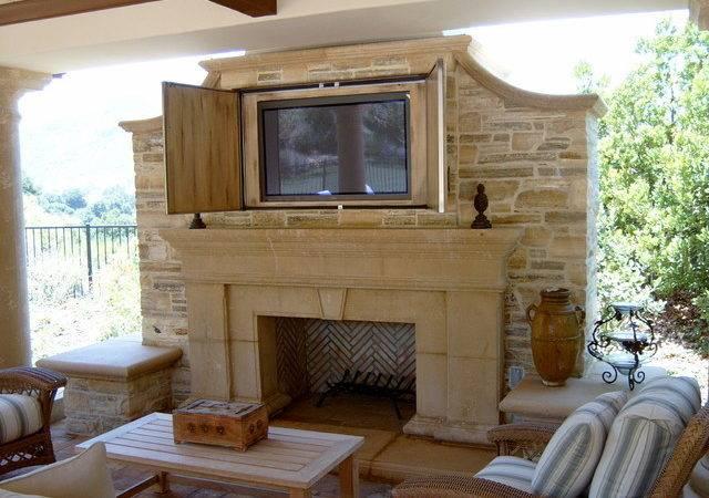 Fireplace Flatscreen