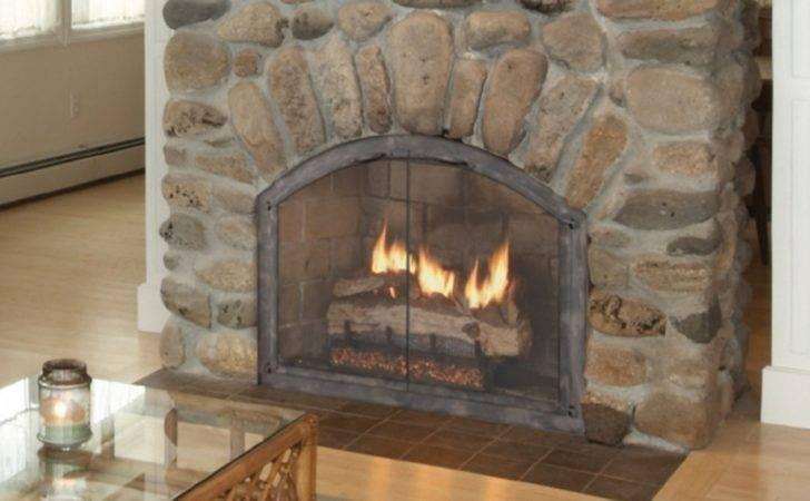 Fireplace Glass Doors Ambler Patio