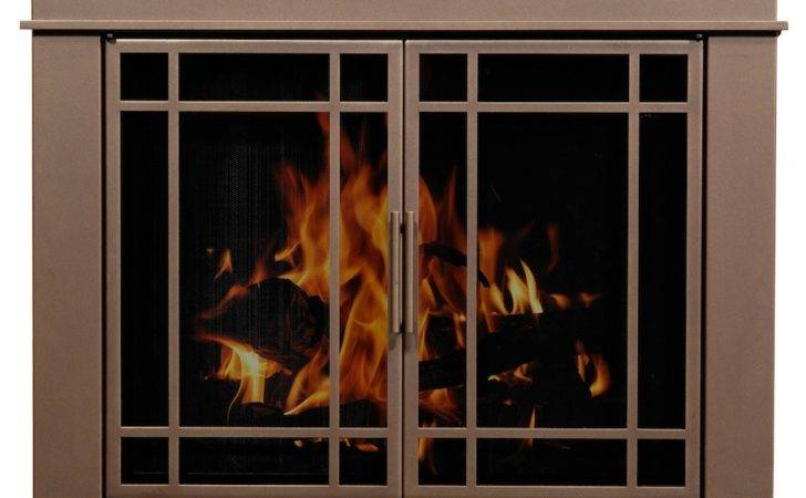 Fireplace Glass Doors Barbecue Centre