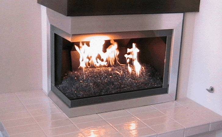 Fireplace Glass Elegant Your More Custom
