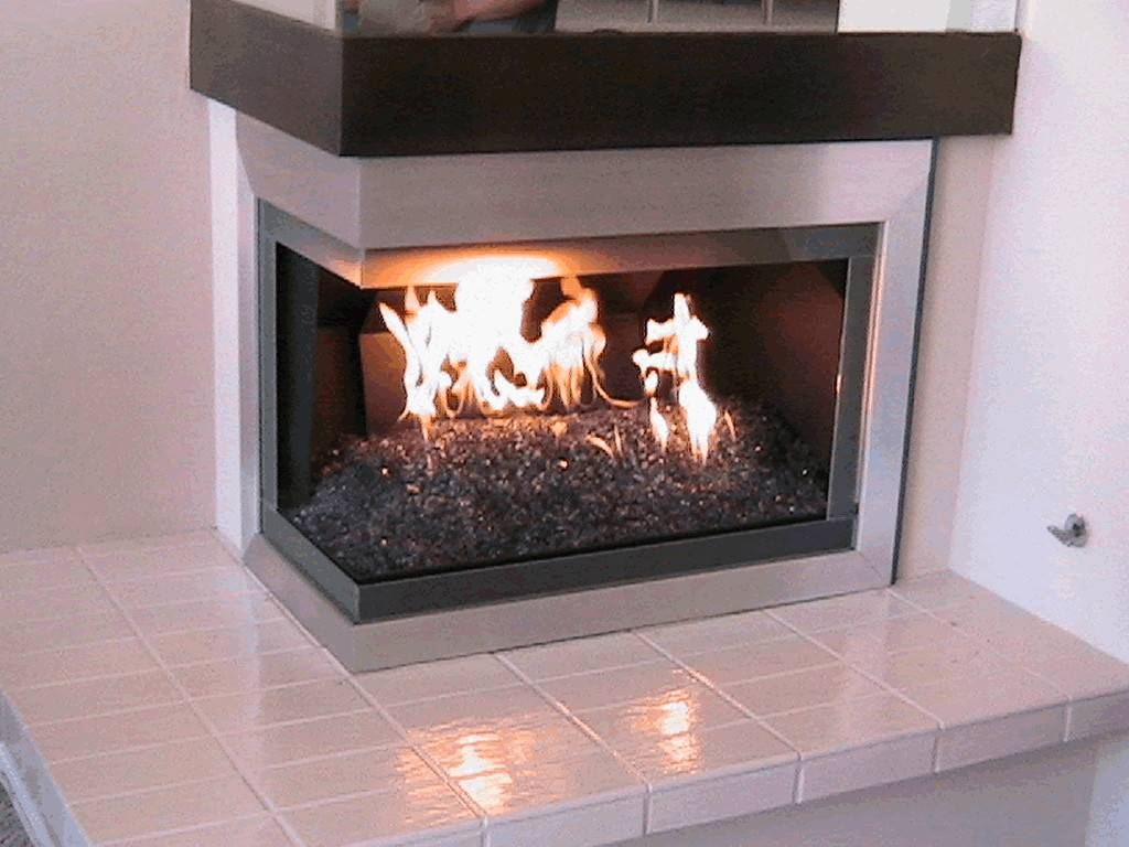Fireplace Glass Elegant Your More Custom
