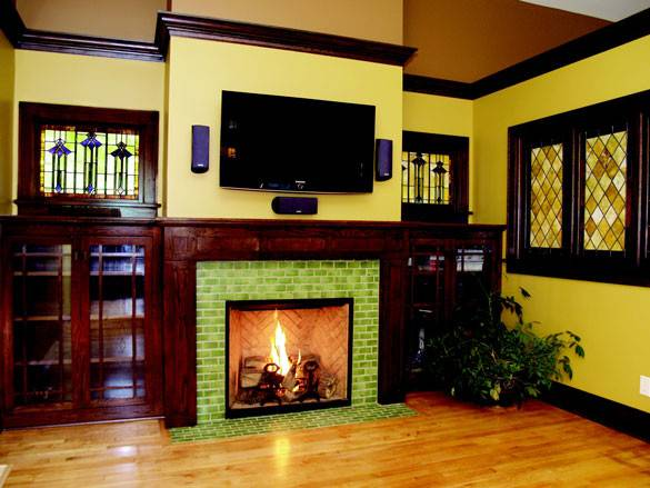Fireplace Ideas Tile Design