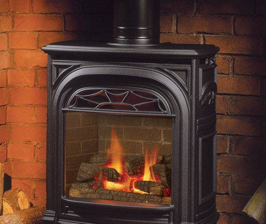 Fireplace Standing Stove Insert Outdoor