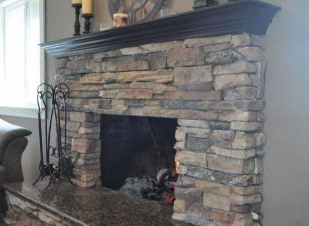 Fireplace Stone Mantels Brick Fireplaces