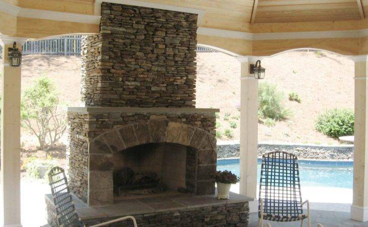 Fireplace Stone Surrounds Stacked Stack