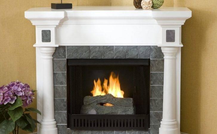 Fireplace Tile Corner Fireplaces Design Electric