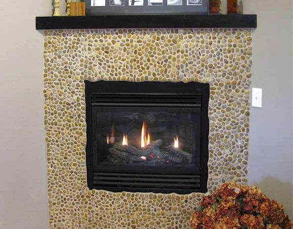 Fireplace Tile Decorating Ideas Home Designs Project