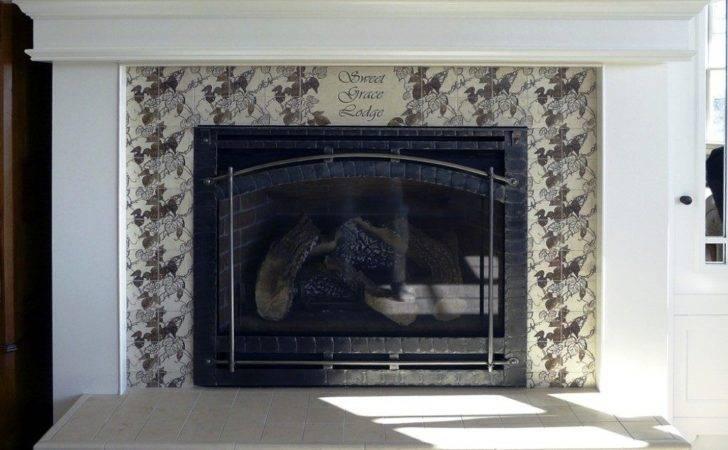 Fireplace Tile Design Ideas Mantel Hearth Homes