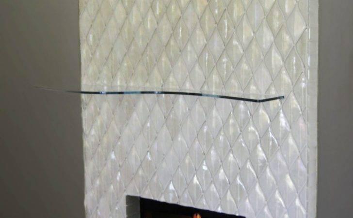 Fireplace Tile Designs Alpentile Contemporary Glass