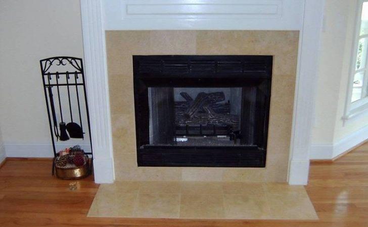 Fireplace Tile Ideas Casual Cottage