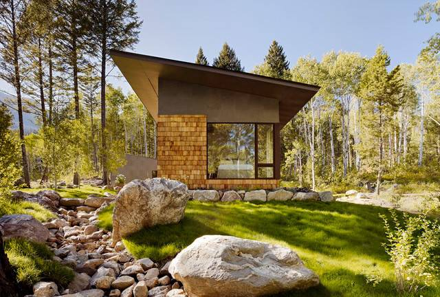 Fish Creek Compound Guest House Contemporary Exterior Salt Lake