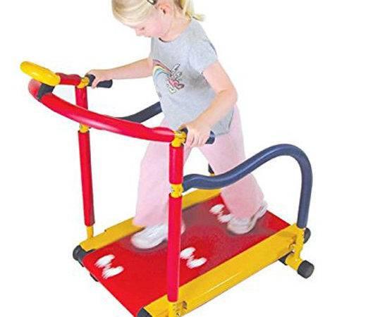 Fitness Treadmill Tread Mill Walk Jog Run Boys Girls Exercise Home Gym
