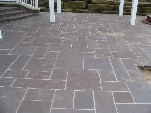 Flagstone Patios Walkways