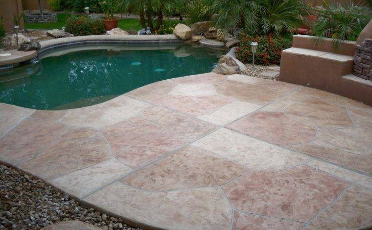 Flagstone Pool Deck Coatings Repair Creative Surfaces